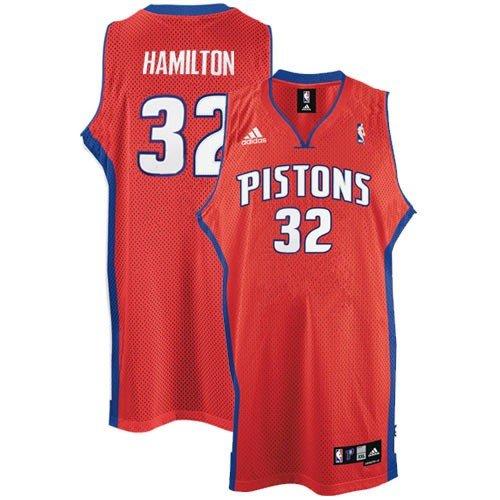 Adidas Detroit Pistons Rick Hamilton Swingman Alternate Jersey Xx Large ()