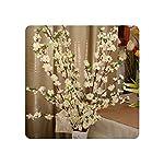 Geminilee-Artificial-Cherry-Spring-Plum-Peach-Blossom-Branch-Silk-Flower-Home-Wedding-Decorative-Flowers-Plastic-Peach-Bouquet-65cmWhite