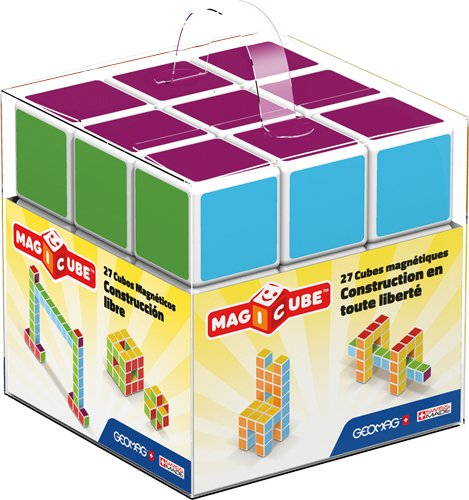 Geomag Magicube Free Building 27Piece Construction Toy Set