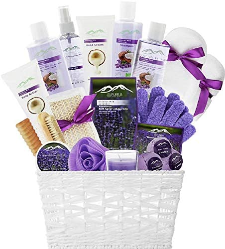Premium Basket Ultimate Lavender Coconut product image