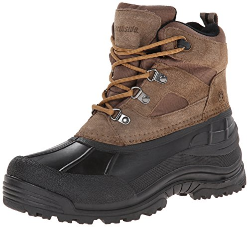 Northside Men's Tundra Lace-Up Cold Weather Boot,Bark,12 M US