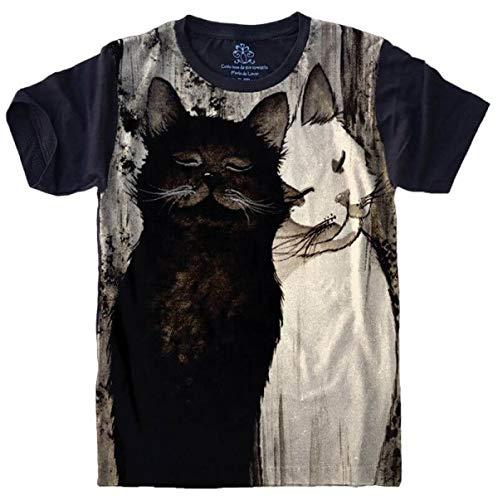 Camiseta Gatos Felino