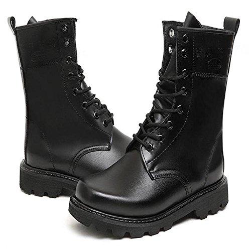 Botas negras a prueba de agua de moda suela resistente al desgaste , 45 45