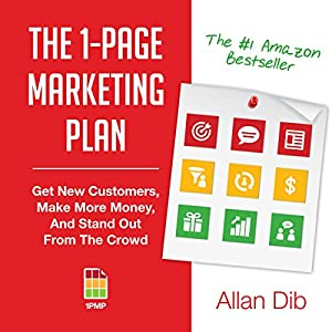 The 1-Page Marketing Plan Audiobook