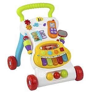winfun - Andador Musical para bebés de 6-30 Meses (ColorBaby 40550)