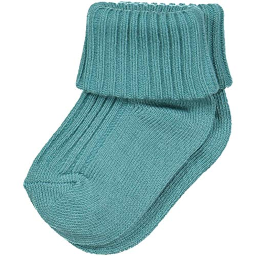 POLARN O. PYRET ECO STAPLE SOCKS (NEWBORN) - 4-9 months/Bristol Blue