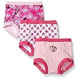 Disney baby-girls Toddler Girls Minnie 3pk Training Pant