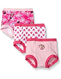Disney baby-girls Toddler Girls Minnie 3pk Training Pant