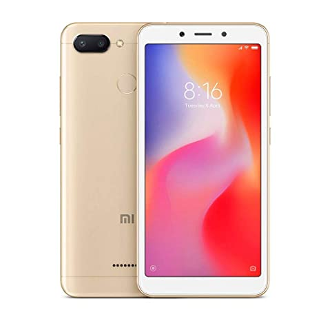 Amazon.com: Xiaomi REDMI 6 32 GB/3 GB de RAM – 4G LTE en ...