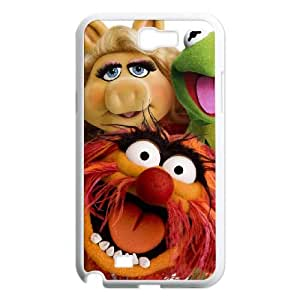 Samsung Galaxy N2 7100 Cell Phone Case White MUPPETS KERMIT PIGGY FUN GFM DIY Protective Cell Phone Case