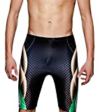 #9: Phinikis Men's Jammer Swimsuit Chlorine Resistant Quick Dry UPF 50 Tight Trunk
