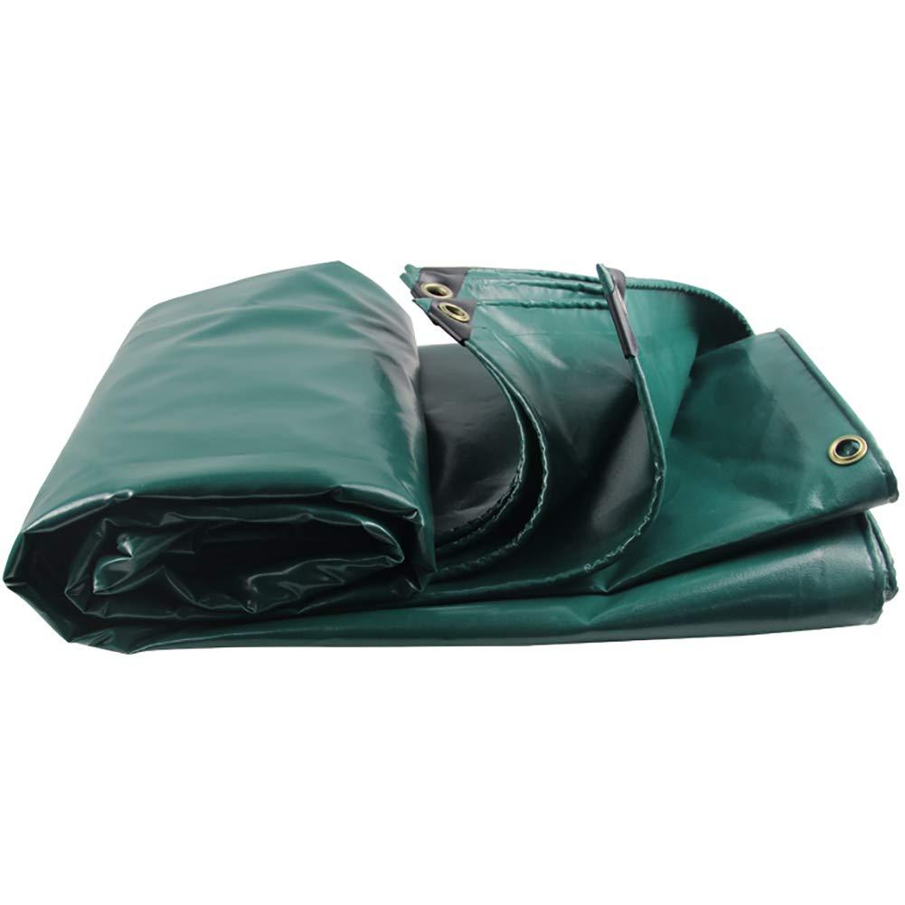 Super Kh® ターポリン防水日焼け止めサンシェード防塵ウェアブルキャンバスアンチエイジング屋外トラックカバー布 (サイズ さいず : 3.8x4.8m) 3.8x4.8m  B07HCD564Z