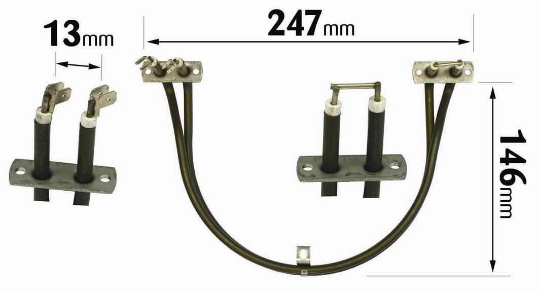 Bosch Neff Siemens Fan Oven Element 14-NF-43
