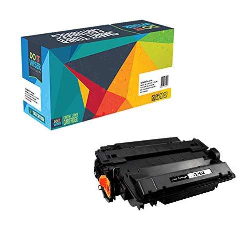 Do it Wiser Compatible CE255X HP 55X Toner for HP LaserJet P3010 P3011 P3015 P3015dn P3015n P3015x P3016 - High Yield 12.500 pages
