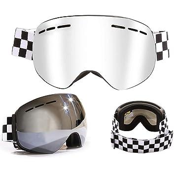 Deporte Gafas de Esquí Motocicleta Snowboard Skateboard Gafas Para Hombres