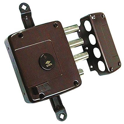 Cisa 1.57125.60.1 - Cerradura borja sobrep. llave larga tirador 3ptos dcha. sin varillas: Amazon.es: Bricolaje y herramientas