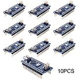 Longruner Mini Nano V3.0 ATmega328P 5V 16M Micro Controller Board Module for Arduino (10Pcs)
