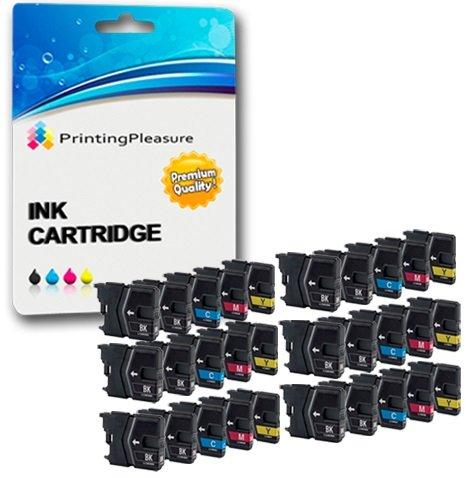 30 Compatibles LC985 Cartuchos de Tinta para Brother MFC-J220 MFC-J265W MFC-J410 MFC-J415W MFC-J515W DCP-J125 DCP-J315W DCP-J515W - ...