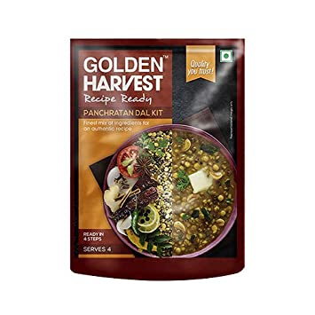 Recipe Ready Panchratan Dal Serves 4 All Ingredients Inside