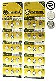Rayverstar LR41 AG3 1.5 Volt Alkaline Battery (20), Fits: 392, 192, SR41, 384, G3, 736 (Full List Below)