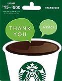Starbucks Thank You Gift Card $25