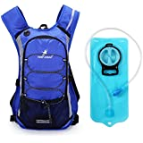 Aircee (TM) Hydration Pack Backpack Rucksack Water Reservoir Bag For Outdoor Running Cycling Bicycle Bike Hiking Climbing Travel Lightweight Pouch Packs + 2L Hydration Bladder