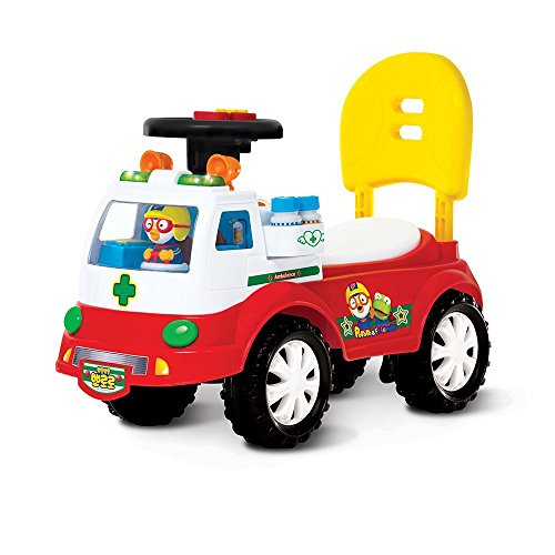 Pororo Ambulance Ride-on Car / Korea TV Animation Children's Gifts - Sky Ride On Fire Truck