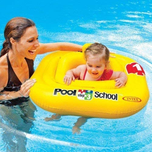 Intex 123 piscina escuela resistente y inflable bebé flotador paso ...