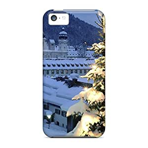 Brand New 5 5s Defender Case For iPhone 5 5s (christmas Tree City)
