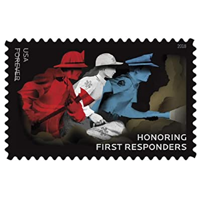 USPS Honoring First Responders Forever Stamps (2 Sheets of 20): Office Products