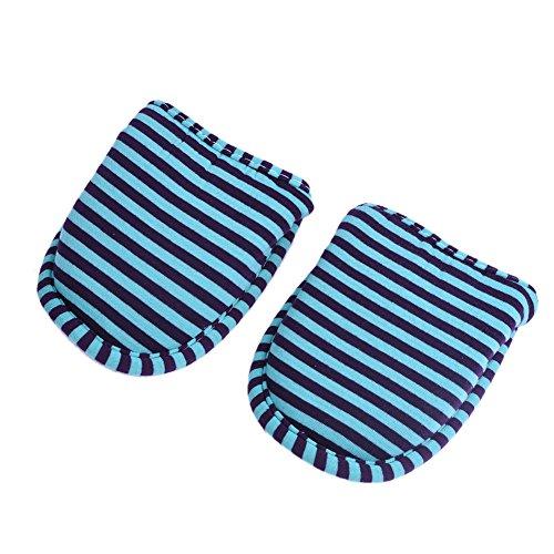 Pantofole Interno Home Lavabile Usa E Portable Alomejor Cotone Green Da Antiscivolo Stripes Hotel Viaggio Morbido Pieghevole 1 nbsp;paio Viaggi Getta Ciabatte Per Striped Con 1aqPtz