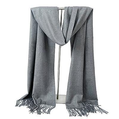 LERDU Ladies Gift Idea Cashmere Pashmina Scarf Fashion Warm Wool Wrap Shawl Winter Stole for Women