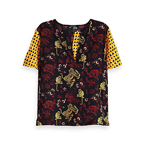 17 Soda Scotch Donna Top Print A T shirt Multicolore combo amp; Mixed PPSx15