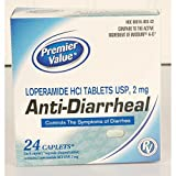 Premier Value Anti-Diarrheal - 24ct