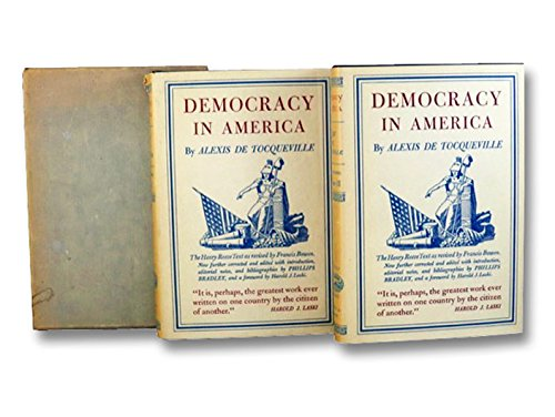 Democracy in America 2 Volume Set