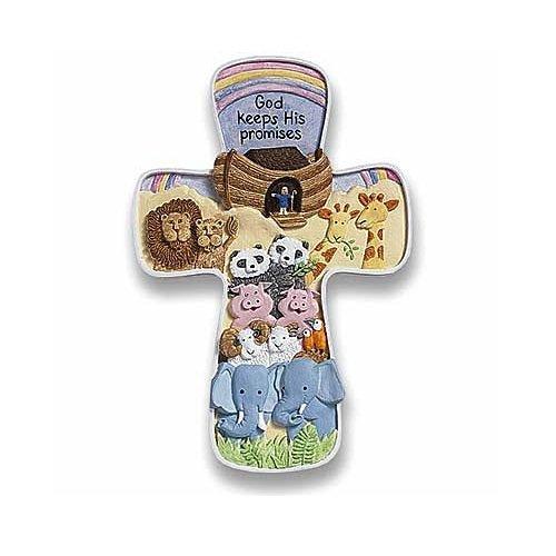 Abbey Gift Noah's Ark Cross