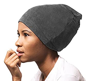 9b9d053dbed Image Unavailable. Image not available for. Color  ADAMA Satin Lined Jersey  Beanie