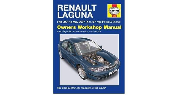 Renault Laguna Petrol and Diesel Service and Repair Manual: 2001 to 2007 Haynes Service and Repair Manuals: Amazon.es: Peter T. Gill: Libros en idiomas ...
