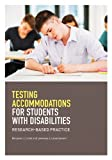 img - for Testing Accommodations for Students With Disabilities: Research-Based Practice (School Psychology) (School Psychology (APA)) book / textbook / text book