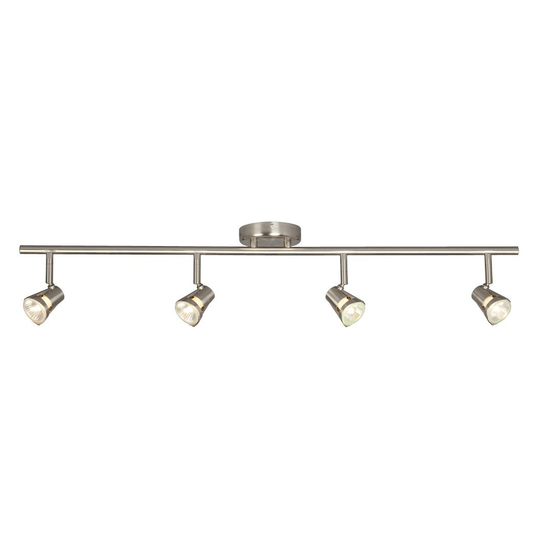 Galaxy Lighting 755594BN 4 Light Halogen Fixed Track Lighting