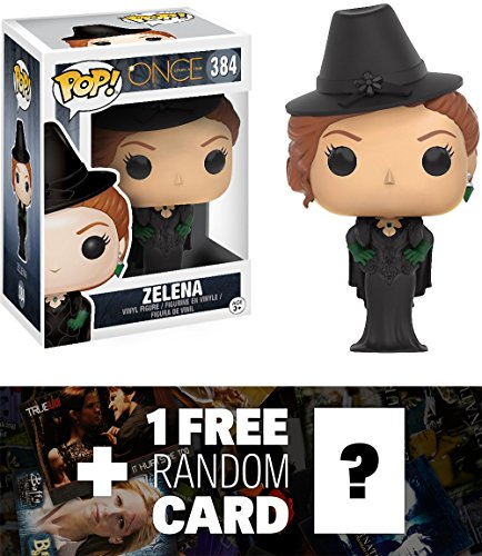 Zelena: Funko POP! x Once Upon A Time Vinyl Figure + 1 FREE American TV Themed Trading Card Bundle (Evil Fairy Tale Characters)
