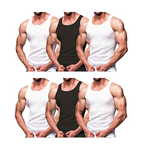 Rich Cotton Tank Top (Pack 6 -