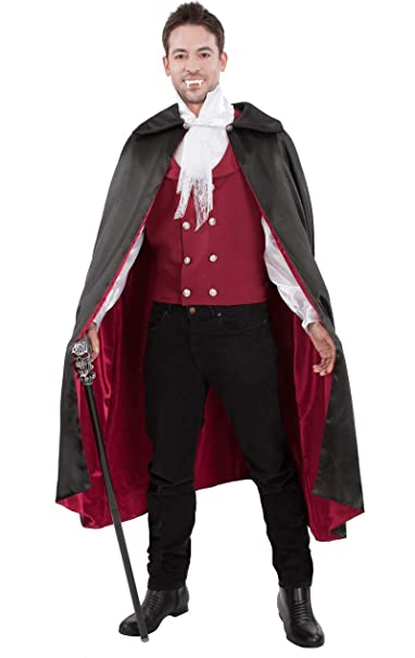 Orion Costumes Mens Red Vampire Count Dracula Halloween