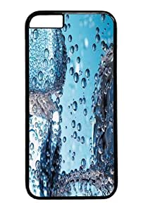 Ice Cubes Closeup Polycarbonate Hard Case Cover for iphone 6 4.7 inch Black
