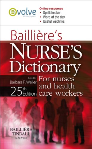Bailliere's Nurses' Dictionary: for Nurses and Health Care Workers Pdf
