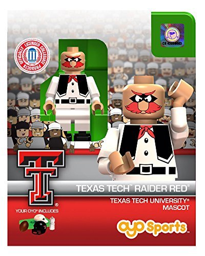 Raider Red Mascot OYO Generation 1 G1 Series 1 Texas Tech Red Raiders NCAA LE Mini Figure