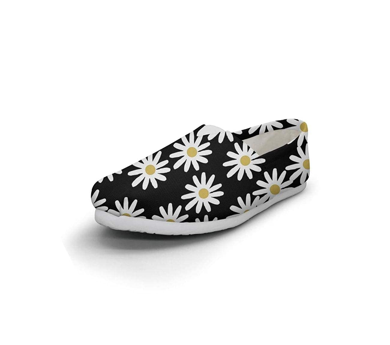 Vintage Daisy Floral Women Loafer for Womens Customize Non-Slip