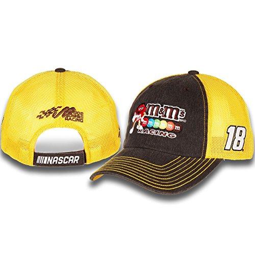 Kyle Busch #18 M&M's Racing Nascar 2018 Sponsor Trucker Mesh Hat / Cap (Kyle Busch Nascar Jackets)