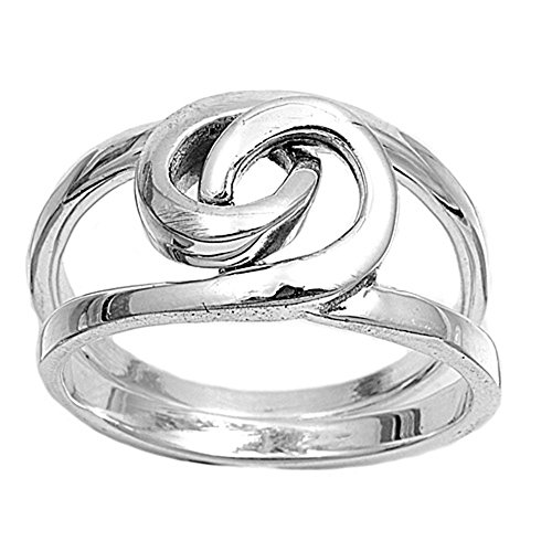 CloseoutWarehouse Sterling Silver Bonded Ring Size (Bonded Anniversary Ring)