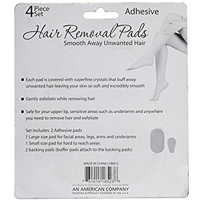 bulk buys Hair Removal Pads, Pink, 24 Count : Beauty